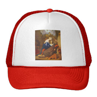 Jean Dominique Ingres- Raphael and Fornarina Trucker Hat
