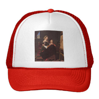 Jean Dominique Ingres- Raphael and the Fornarina Trucker Hat