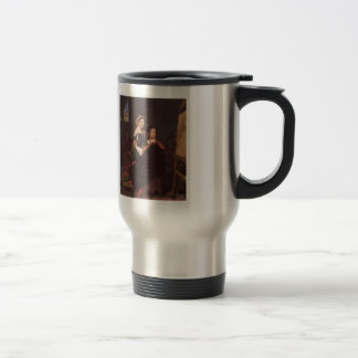 Jean Dominique Ingres- Raphael and the Fornarina Coffee Mugs