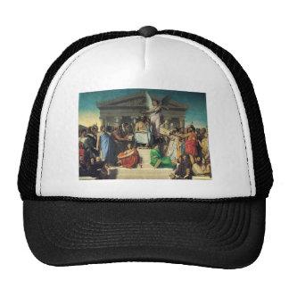Jean Dominique Ingres- The Apotheosis of Homer Trucker Hat