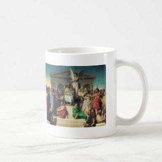 Jean Dominique Ingres- The Apotheosis of Homer Mug