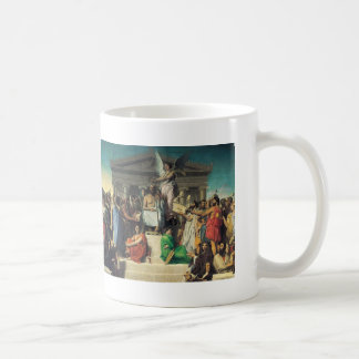 Jean Dominique Ingres- The Apotheosis of Homer Coffee Mugs