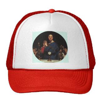 Jean Dominique Ingres- The Virgin of the Host Trucker Hat