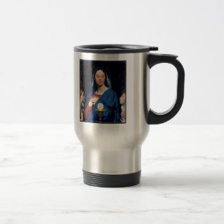 Jean Dominique Ingres- The Virgin of the Host Coffee Mugs