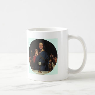 Jean Dominique Ingres- The Virgin of the Host Mugs