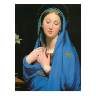 Jean Dominique Ingres- Virgin of the Adoption Postcard