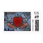 Jean Doodle Valentine Stamp