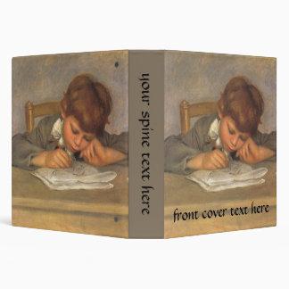 Jean Drawing by Renoir Vintage Impressionism Art Vinyl Binders