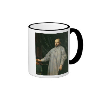 Jean Duvergier de Hauranne  Abbot of Ringer Mug