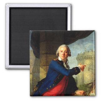 Jean-Enrique Chevalier de Latude, 1789 Imán Para Frigorifico