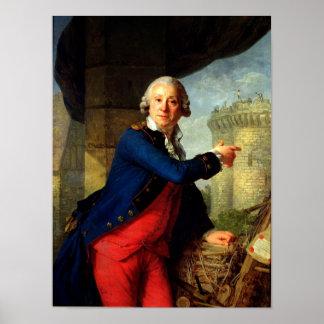 Jean-Enrique Chevalier de Latude, 1789 Póster