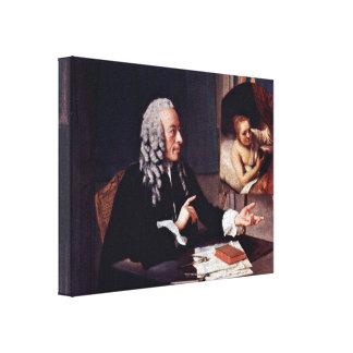 Jean-Etienne Liotard - Francois Tronchin Canvas Print