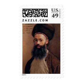 Jean Etienne Liotard Self-portrait Postage Stamp