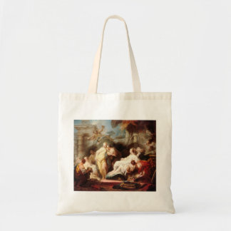 Jean Fragonard- Psyche showing her gift to sisters Tote Bag