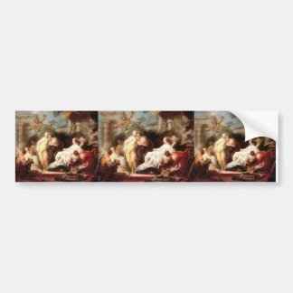 Jean Fragonard- Psyche showing her gift to sisters Bumper Stickers