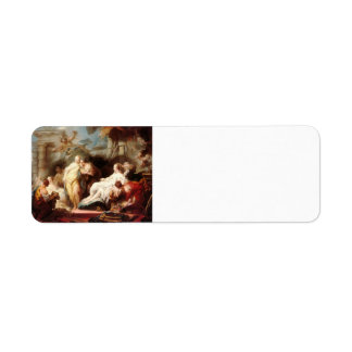 Jean Fragonard- Psyche showing her gift to sisters Return Address Label