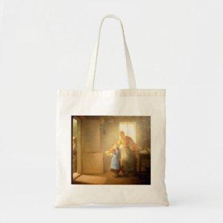 Jean-Francois Millet- Charity Budget Tote Bag