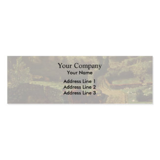 Jean-Francois Millet-Manor farm Cousin in Greville Business Card Template