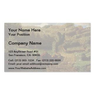 Jean-Francois Millet-Manor farm Cousin in Greville Business Card Templates
