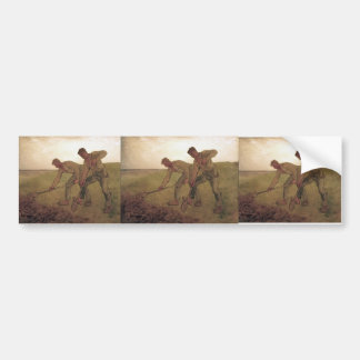 Jean-Francois Millet- The Diggers Bumper Stickers