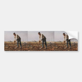 Jean-Francois Millet- The Man with the Hoe Bumper Sticker