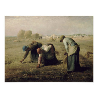 Jean-Franois Millet The Gleaners Poster