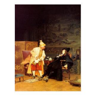 Jean Georges Vibert- The Sick Doctor Postcard