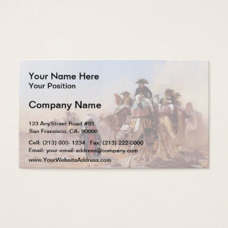 Jean Gerome-General Bonaparte & his Military Staff Business Card