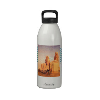 Jean Gerome- Thebes Colosseums, Memnon & Sesostris Water Bottles