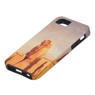 Jean Gerome- Thebes Colosseums, Memnon y Sesostris iPhone 5 Case-Mate Fundas