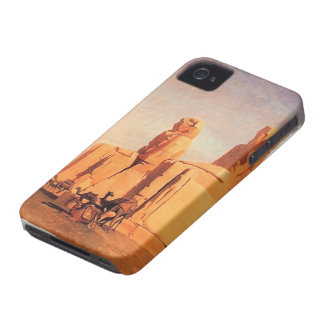 Jean Gerome- Thebes Colosseums, Memnon y Sesostris iPhone 4 Fundas