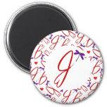 Jean Hart Artwork logo design Magnets