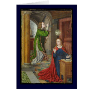 Jean Hey Annunciation Greeting Card