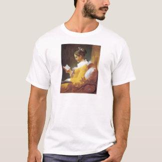 Jean Honore Fraggonard A Young Girl Reading 1776 T-Shirt
