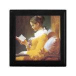 Jean-Honore Fragonard el lector Caja De Regalo