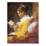Jean-Honore Fragonard el lector Postal
