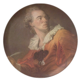 Jean-Honore Fragonard- Inspiration Party Plate