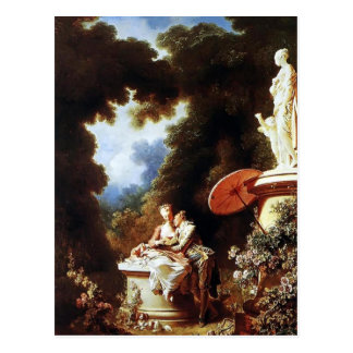 Jean-Honore Fragonard- The Confession of Love Postcard