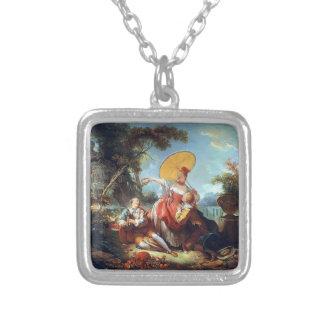 Jean-Honore Fragonard- The Musical Contest Pendant