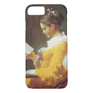 Jean-Honore Fragonard The Reader iPhone 7 Case
