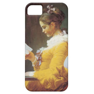 Jean-Honore Fragonard The Reader iPhone SE/5/5s Case