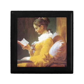Jean-Honore Fragonard The Reader Keepsake Box
