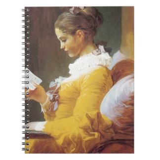 Jean-Honore Fragonard The Reader Note Books