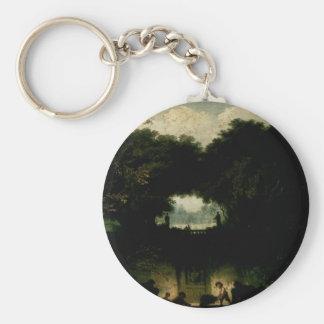 Jean-Honore Fragonard- The Small Park Key Chains