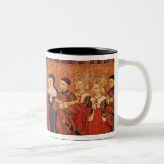 Jean I Jouvenel des Ursins  with wife and Two-Tone Coffee Mug