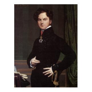 Jean Ingres- Amedee-David, Comte de Pastoret Postal