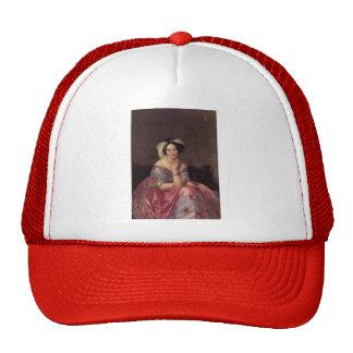 Jean Ingres- Baronesss Betty de Rothschild Trucker Hat