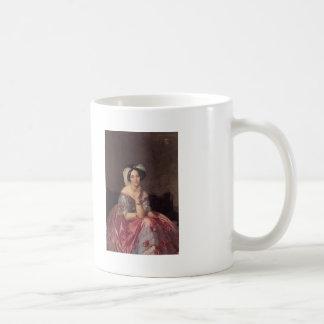 Jean Ingres- Baronesss Betty de Rothschild Coffee Mugs