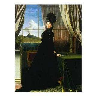 Jean Ingres- Caroline Murat, reina de Nápoles Postal