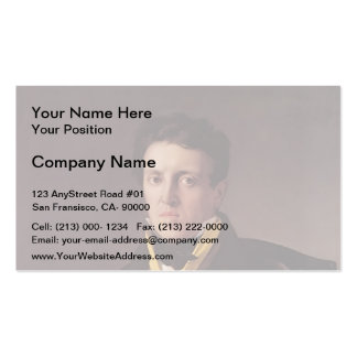 Jean Ingres- Charles-Marie-Jean-Baptiste Marcotte Business Card Templates